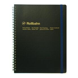 【DELFONICS/デルフォニックス】ロルバーン ポケット付メモ (XL)【ブラック】 NRP06-BK 【あす楽対応】