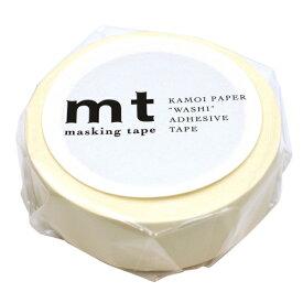 mt マスキングテープ 1P【マットホワイト】 MT01P208【あす楽対応】