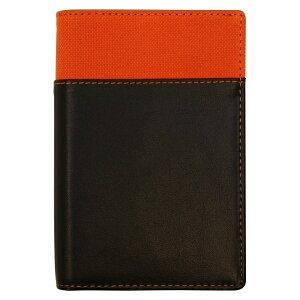 ミニ6穴サイズ リフィルファイルポケット【オレンジ】システム手帳バインダー WPF801D【あす楽対応】