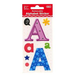 リムーバブル アルファベット ステッカー/シール【A】 RDA1【あす楽対応】