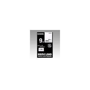 ネームランド用 テープカートリッジ スタンダードテープ【透明ラベル 黒文字】 XR-9X