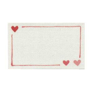 リュリュ message card/メッセージカード【ハート】 MC-29【あす楽対応】