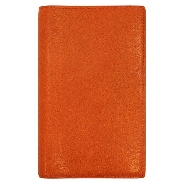 【Knox/ノックス】バイブルサイズ 6穴 カロス(KALOS) リング径13mm【オレンジ】システム手帳バインダー 124-690-42 【あす楽対応】