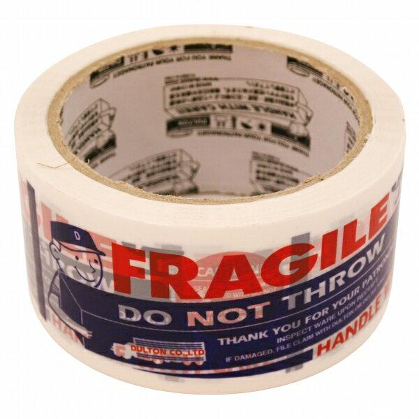 【ダルトン】PRINTED PACKING TAPE(カートンテープ)【FRAGILE】 PPT-6 【あす楽対応】
