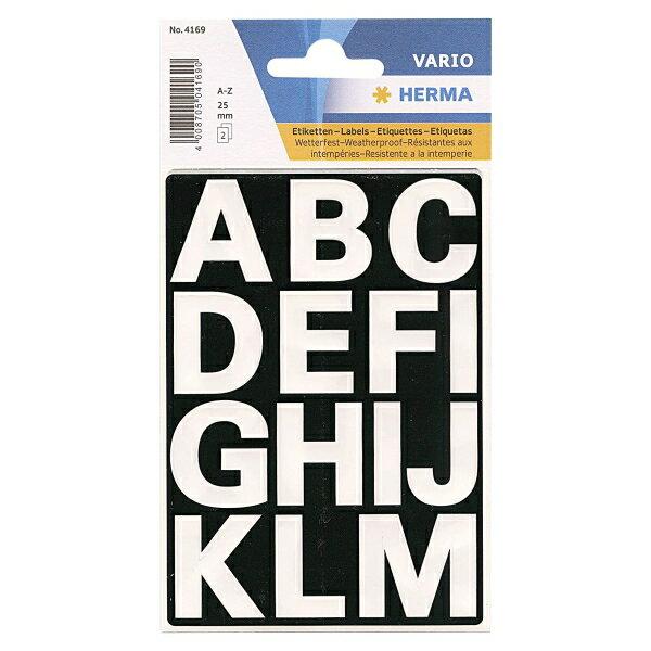 【HERMA/ヘルマ】ラベル #4169(防水シール)【アルファベット】 304169 【あす楽対応】