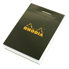 【Rhodia/ロディア】ミニブロック No.10 nano.pad【ブラック】  【あす楽対応】
