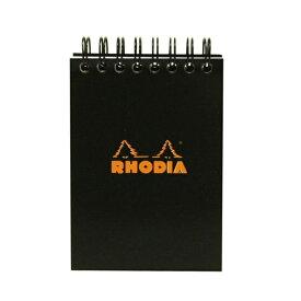 【Rhodia/ロディア】クラシックノートパッド No.11 リング綴【ブラック】 cf11509 【あす楽対応】