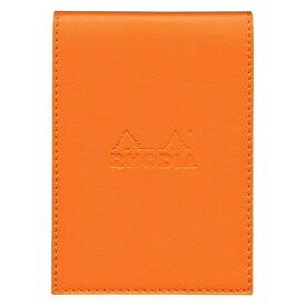【Rhodia/ロディア】イーピュア カバー付ブロック(No.12サイズ)【オレンジ】 cf118128 【あす楽対応】