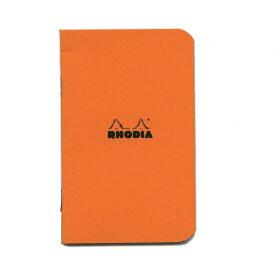 【Rhodia/ロディア】クラシック ホチキス留ノート(A7)5mm方眼罫【オレンジ】 cf119158 【あす楽対応】