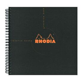 【Rhodia/ロディア】クラシック リバースブック 方眼【ブラック】 cf193609 【あす楽対応】