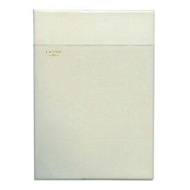 【LACONIC/ラコニック】 en Blanc A5サイズ ブロックノート ソフトカバー【ホワイト】 LG19-130 WH 【あす楽対応】