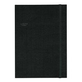 【LACONIC/ラコニック】 en Blanc A5サイズ ブロックノート ハードカバー【ブラック】 LG20-130 BK 【あす楽対応】