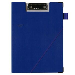 A4縦型 パッドバインダー/2つ折りクリップボード【ブルー】 LN09-150 BL【あす楽対応】