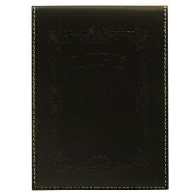 メモカバー ノーブルメモ(横罫)付き【黒】 N52【あす楽対応】