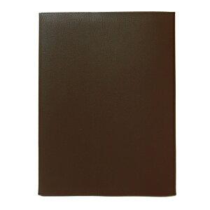 コンサイス 皮革調ブックカバ-No.12 B5判【茶】 324225【あす楽対応】