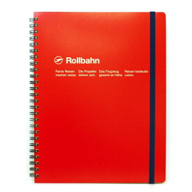【DELFONICS/デルフォニックス】ロルバーン ポケット付メモ (XL)【レッド】 NRP06-RE 【あす楽対応】