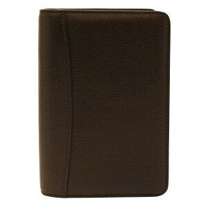 【送料無料】ポケットサイズ ビジネス・ベーシック・オープン・バインダー リング内径15mm【ブラウン】 61185【あす楽対応】