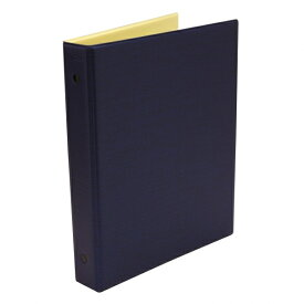 【日本能率協会/Bindex】A5サイズ6穴 保存バインダー5 No.A5-673【ネイビー】システム手帳 バインデックス A5673 【あす楽対応】