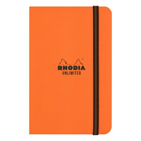 【Rhodia/ロディア】A6変型 アンリミテッド ノート【オレンジ】 cf118858 【あす楽対応】