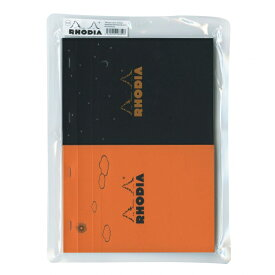 【Rhodia/ロディア】限定セット デイ&ナイト【オレンジ/ブラック】 cf-rdthe2orbk 【あす楽対応】