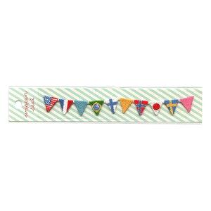 刺繍ワッペンシール【国旗】 SWS-12【あす楽対応】