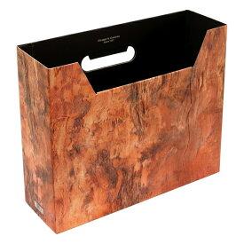 A4 ファイルボックス 横型 WOOD【ベージュ】 WOOD-51-02【あす楽対応】