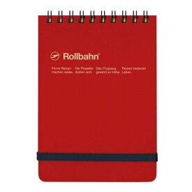 【DELFONICS/デルフォニックス】ロルバーン ポケット付メモ 縦型 Mサイズ【レッド】 NRP11 RE 【あす楽対応】