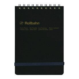 【DELFONICS/デルフォニックス】ロルバーン ポケット付メモ 縦型 Mサイズ【ブラック】 NRP11 BK 【あす楽対応】
