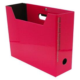 A4 ファイルボックス SOLID2 横型【ピンク】 SLD2-51-03【あす楽対応】