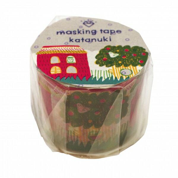 【いろは出版】AIUEO マスキングテープ カタヌキ【ハウス】 MTKL-05 【あす楽対応】