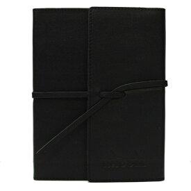 【Rhodia/ロディア】限定品 イーピュア(ePURE) soft journal 本革ノート A6【ブラック】 CF118400 【あす楽対応】