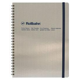 【DELFONICS/デルフォニックス】ロルバーン ポケット付メモ メタリック XLサイズ【シルバー】 NRP17 SV 【あす楽対応】