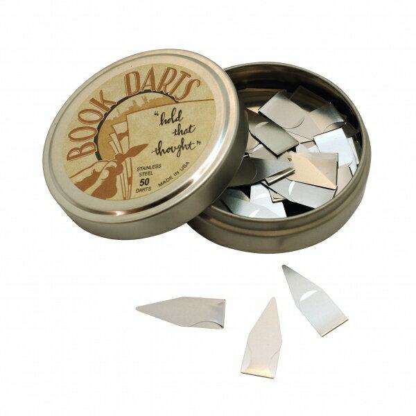 【DELFONICS/デルフォニックス】ブックダーツ/BOOKDARTS 缶入り 【シルバー】 400107-- 【あす楽対応】