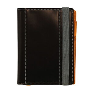 【送料無料(一部地域除く)】A6サイズ 手帳カバー グレインレザー Live Diary 【ブラック】 GTH-1110-BK【あす楽対応】