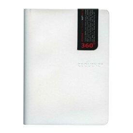 A6変型 ZEQUENZ/ジークエンス360 S 方眼 ホワイト ZQ211 WH「あす楽対応」