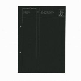 A5 2穴 インプレッションジャーナル ブラック IJ11-18 BK【あす楽対応】