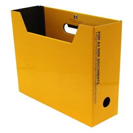 A4 ファイルボックス SOLID2 横型【イエロー】 SLD2-51-06【あす楽対応】