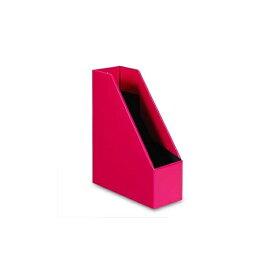 A4 マガジンボックス SOLID2 縦型【ピンク】 SLD2-52-03【あす楽対応】