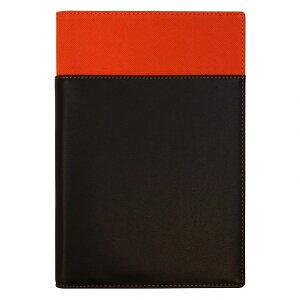 A5サイズ 6穴 リフィルファイルポケット【オレンジ】システム手帳バインダー WAF152D【あす楽対応】