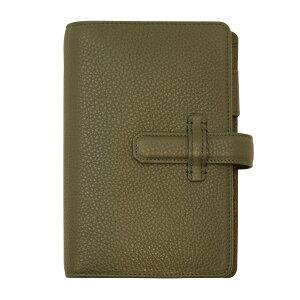 【送料無料】数量限定 ポケットサイズ ナチュラルグレイン・バインダー リング径15mm【ローデングリーン】 64425【あす楽対応】