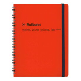 【DELFONICS/デルフォニックス】ロルバーン ポケット付メモ (XL)【オレンジ】 NRP06 OR 【あす楽対応】