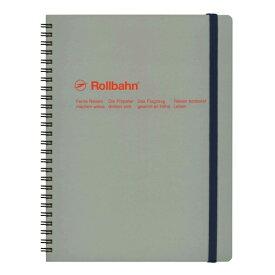 【DELFONICS/デルフォニックス】ロルバーン ポケット付メモ (XL)【アッシュグレー】 NRP06 AG 【あす楽対応】