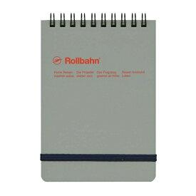 【DELFONICS/デルフォニックス】ロルバーン ポケット付メモ 縦型 Mサイズ【アッシュグレー】 NRP11 AG 【あす楽対応】