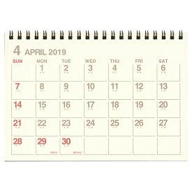 【etranger di costarica/エトランジェ・ディ・コスタリカ】B6カレンダー 卓上【アイボリー】<2019年4月から2020年3月対応> CLT43-G-01 【あす楽対応】