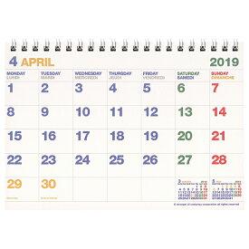 【etranger di costarica/エトランジェ・ディ・コスタリカ】B6カレンダー 卓上 <2019年4月から2020年3月対応> CLT43-G-11 【あす楽対応】