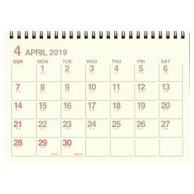 【etranger di costarica/エトランジェ・ディ・コスタリカ】A5カレンダー 卓上【アイボリー】<2019年4月から2020年3月対応> CLT43-A-01 【あす楽対応】