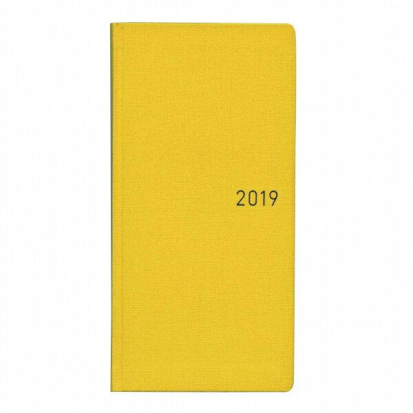 【ほぼ日】B6変型 手帳 WEEKS カラーズ【バナナ】2018年12月から2019年12月  【あす楽対応】