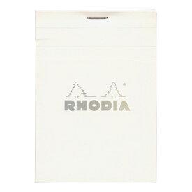 【Rhodia/ロディア】ブロック ホワイト NO.12【方眼】 cf12201 【あす楽対応】