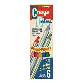 【HIGHTIDE/ハイタイド】PENCO/ペンコ カラーペンシル(色鉛筆)6色セット FT141 【あす楽対応】