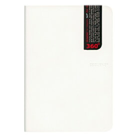 A5 ZEQUENZ/ジークエンス360 L 横罫 ホワイト ZQ202 WH「あす楽対応」